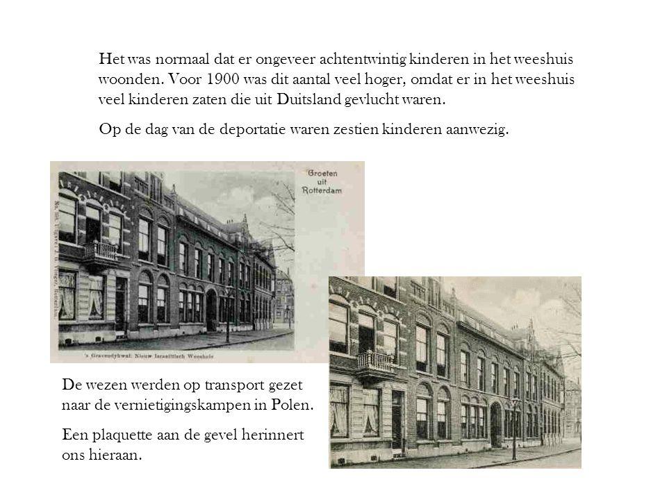 Het was normaal dat er ongeveer achtentwintig kinderen in het weeshuis woonden. Voor 1900 was dit aantal veel hoger, omdat er in het weeshuis veel kin