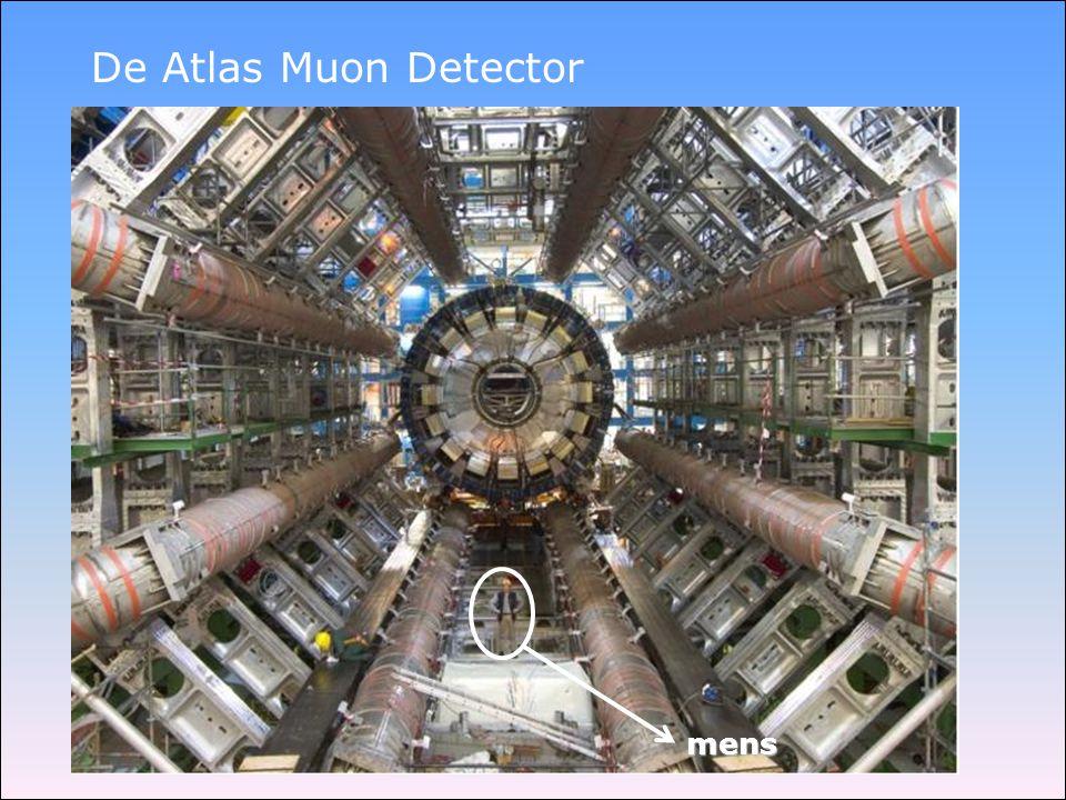 De Atlas Muon Detector mens