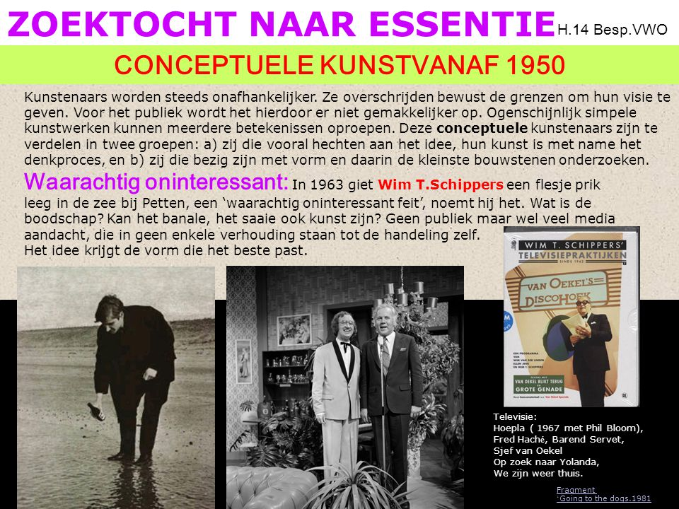 Zoektocht naar essentie Leegte en stilte: 'Het kunstobject staat het uitwisselen van ideeën in de weg', zegt Yves Klein (1928-1962).