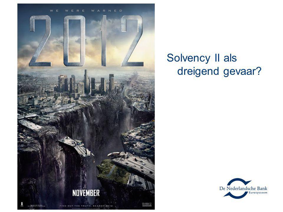 Solvency II als dreigend gevaar?
