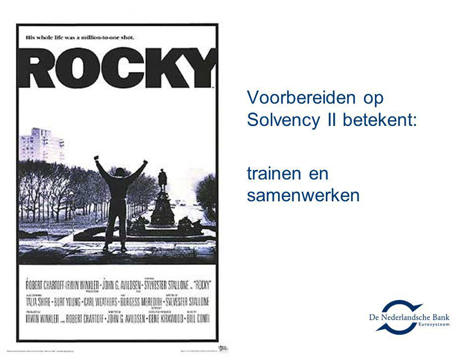 Voorbereiden op Solvency II betekent: trainen en samenwerken