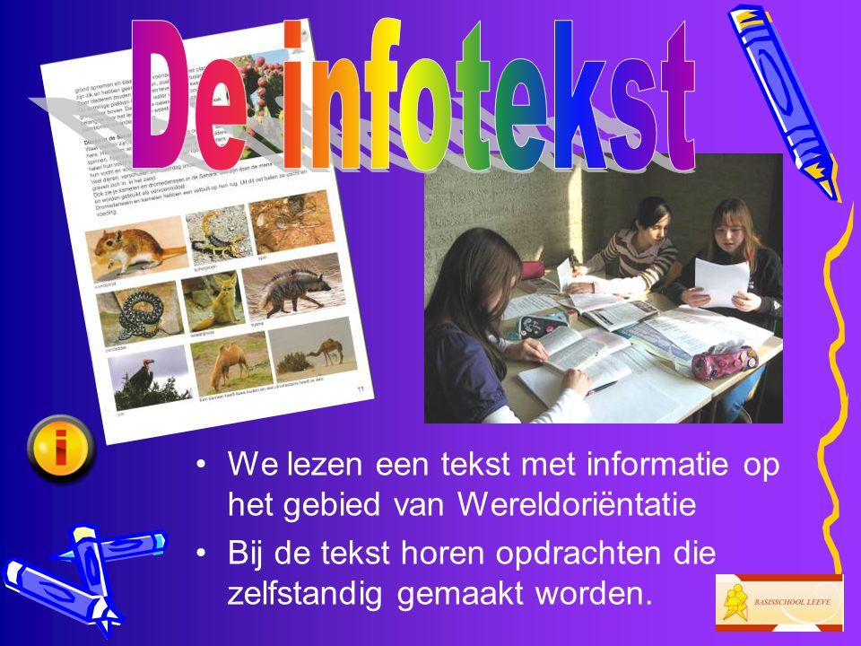 •Met de weekwoorden maken we allerlei oefeningen binnen verschillende vakgebieden, voornamelijk spelling en taal.