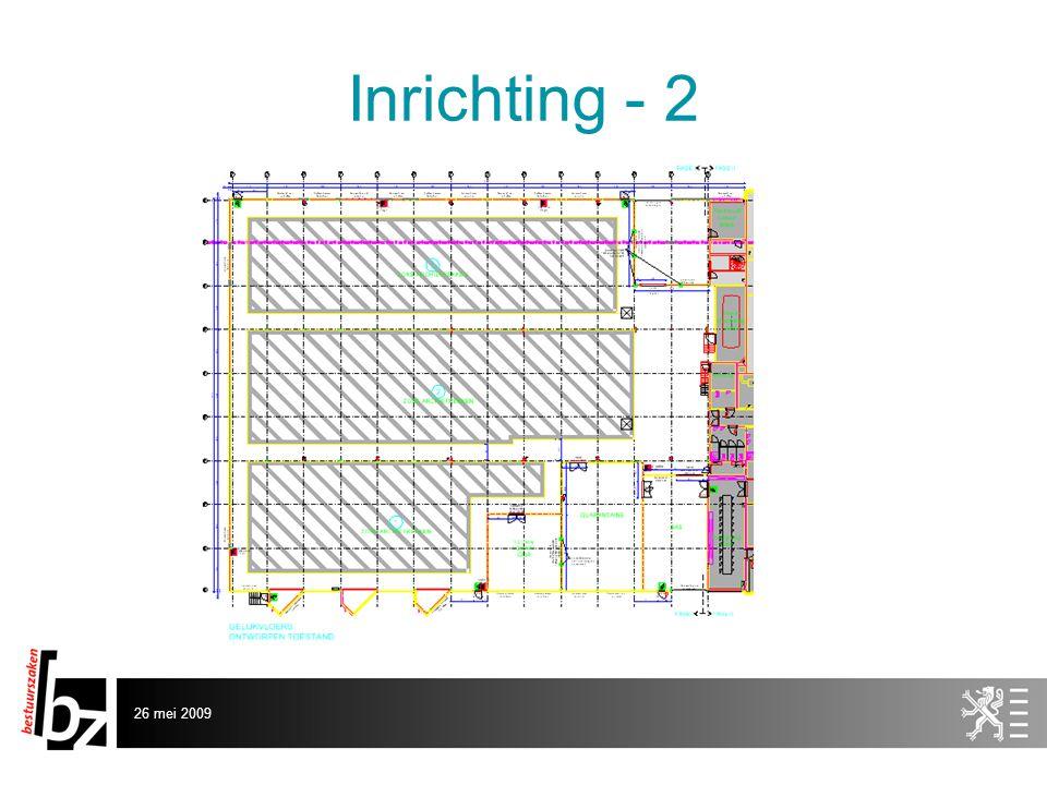 26 mei 2009 Inrichting - 2