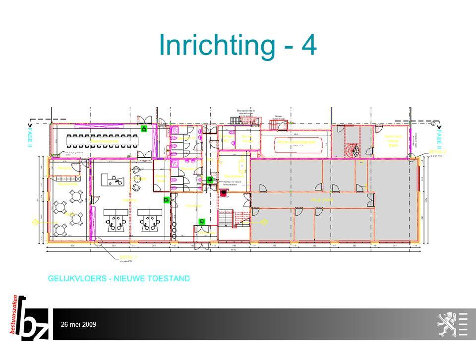 26 mei 2009 Inrichting - 4