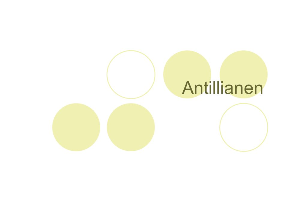 Antillianen