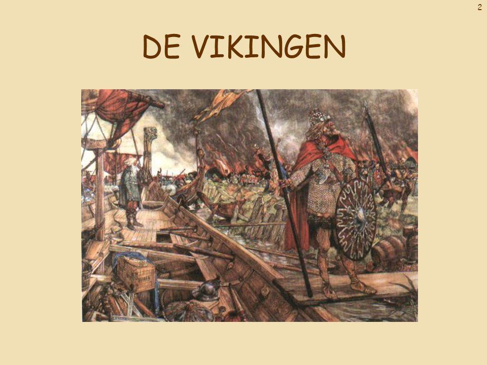 23 Vikingsteden Hieronder zie je een afbeelding van een kleinere stad.