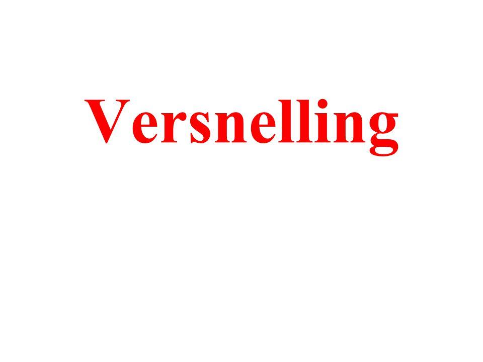 Versnelling