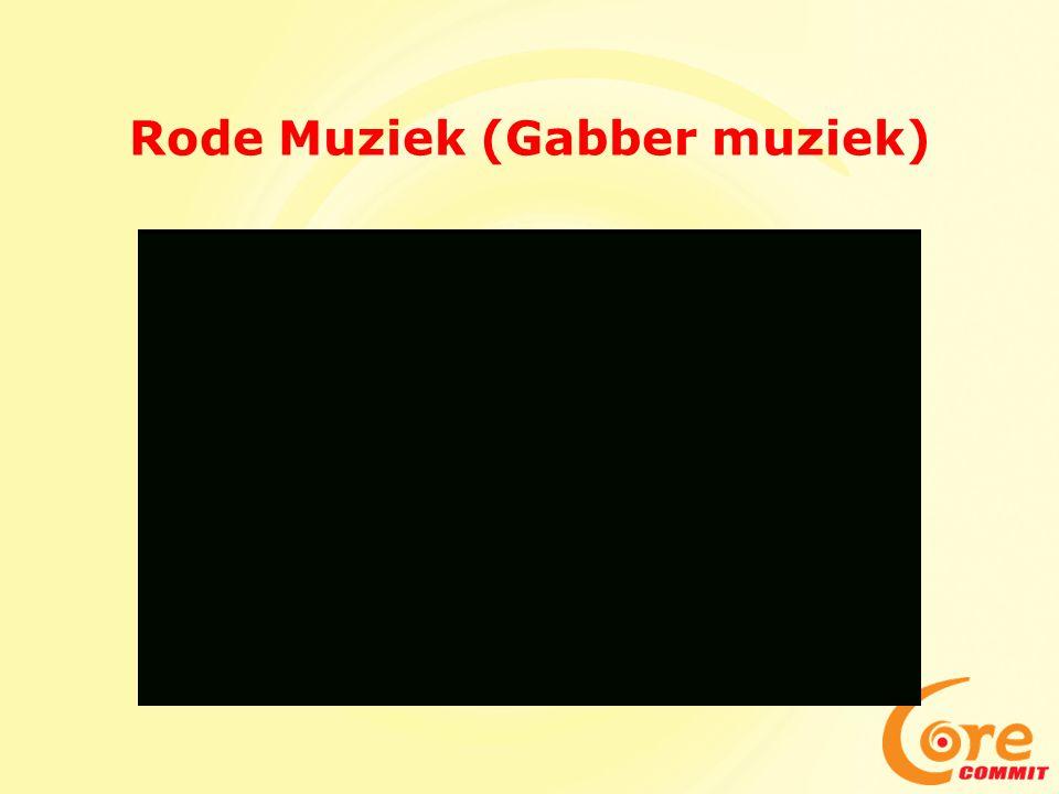 Rode Muziek (Gabber muziek)