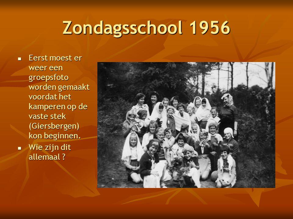 Jongens en Meisjesvereniging 1955  Bij de Kaatsheuvelse ijbaan ('t Vennetje) werd er genoten van een heerlijke picknick.