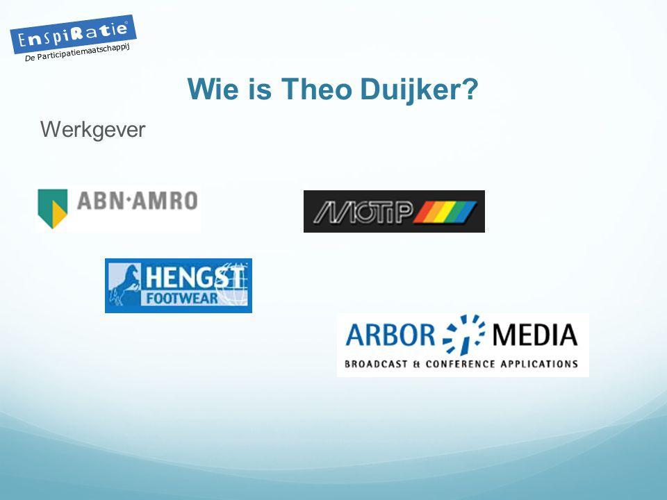 Wie is Theo Duijker? Werkgever De Participatiemaatschappij