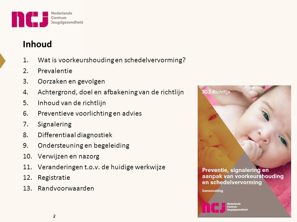 13 Preventieve voorlichting en advies -Wanneer.