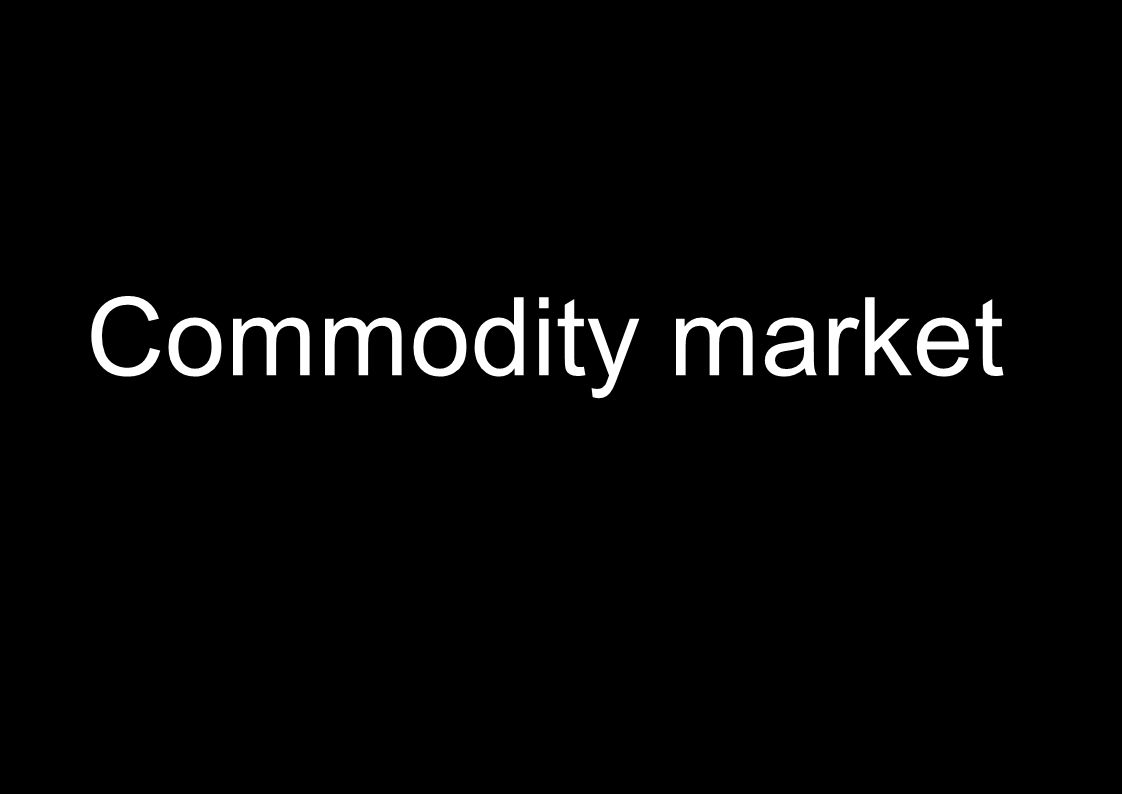 9 Commodity market