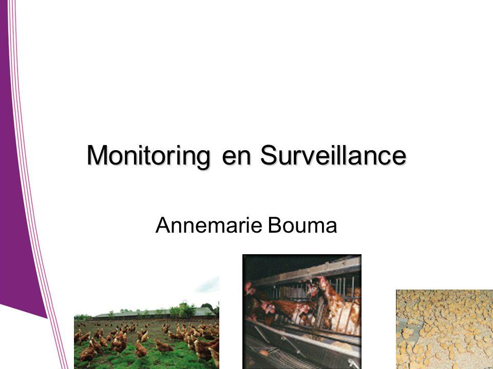 Monitoring en Surveillance Annemarie Bouma