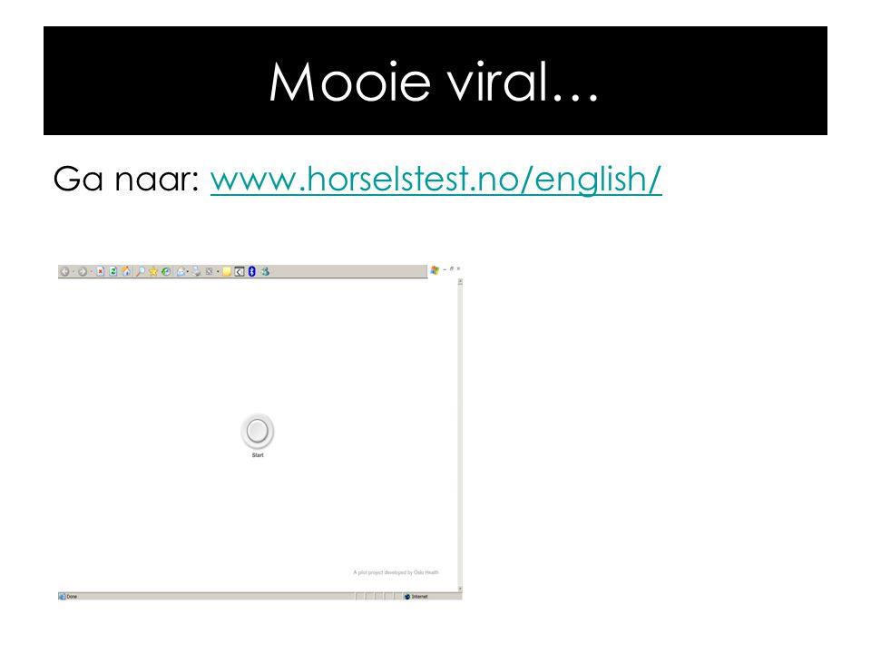Mooie viral… Ga naar: www.horselstest.no/english/www.horselstest.no/english/