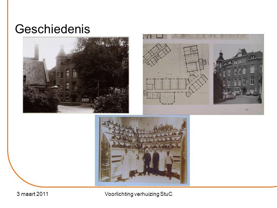 3 maart 2011Voorlichting verhuizing StuC Het nieuwe gebouw Locatie: Diamantslijperij Roeterseiland