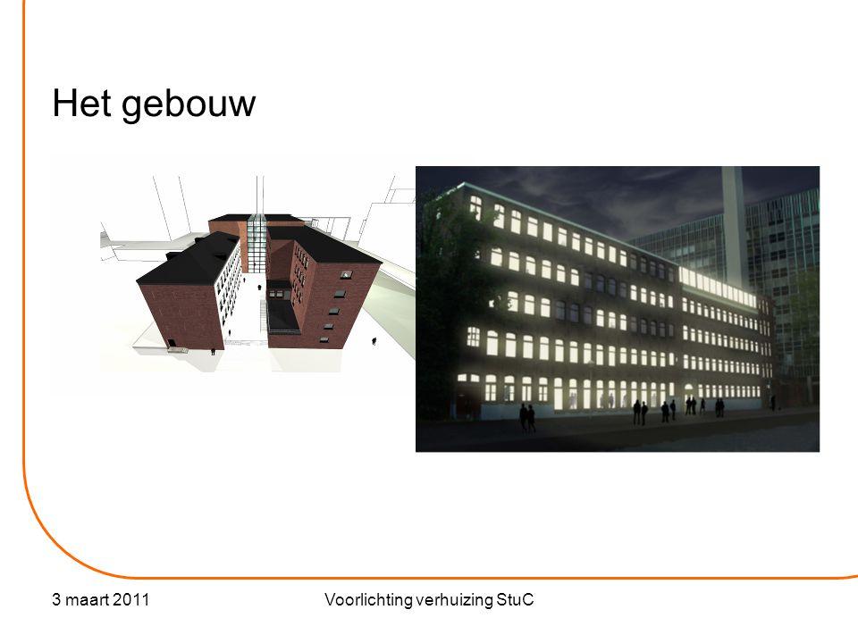 3 maart 2011Voorlichting verhuizing StuC Het gebouw