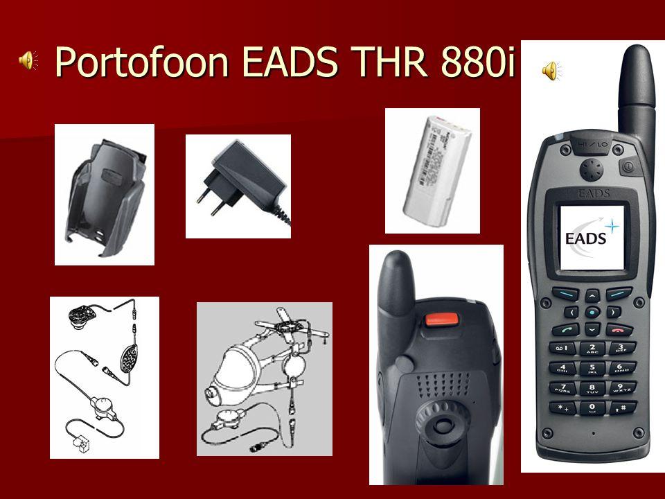 Portofoon EADS THR 880i