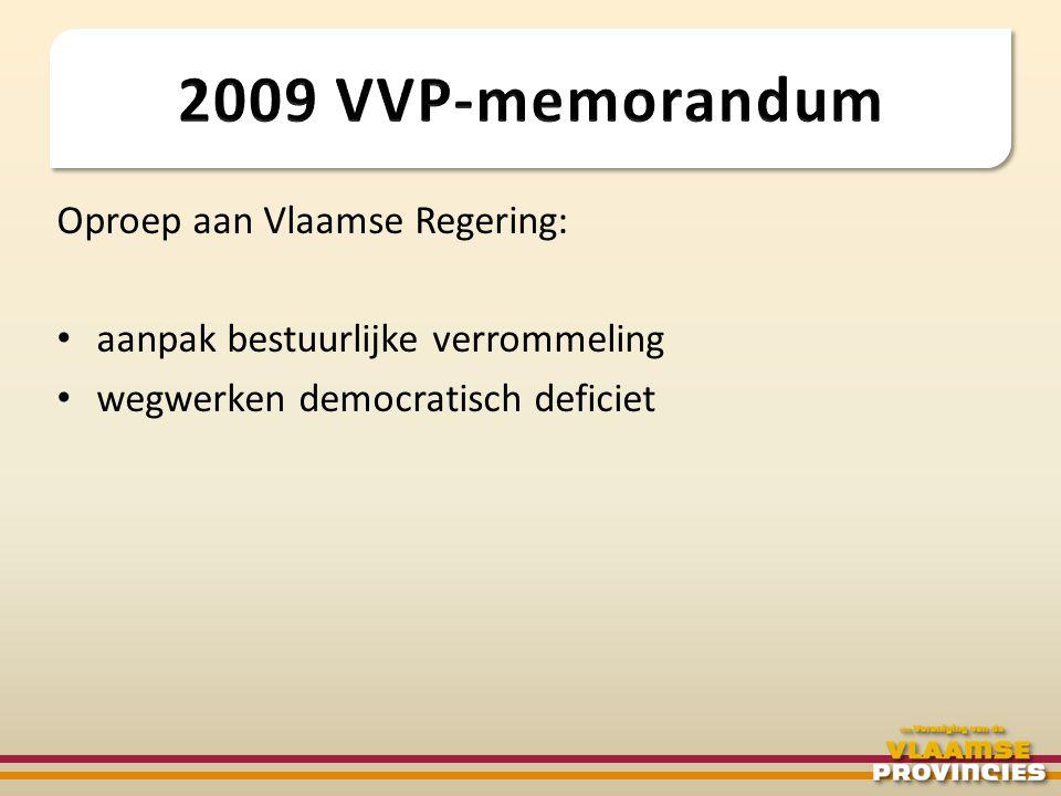 Extern: • communicatieactie 'voor een efficiënt Vlaanderen' naar het maatschappelijk middenveld http://www.vooreenefficientvlaanderen.be/ • overleg met politieke partijen en regeringsleden