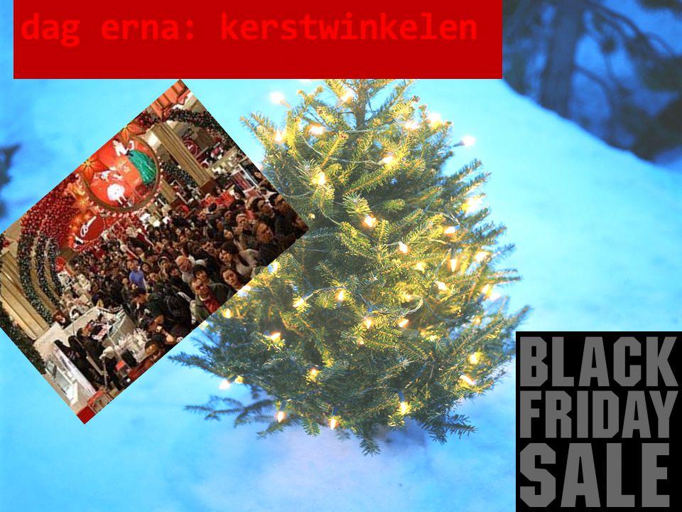dag erna: kerstwinkelen