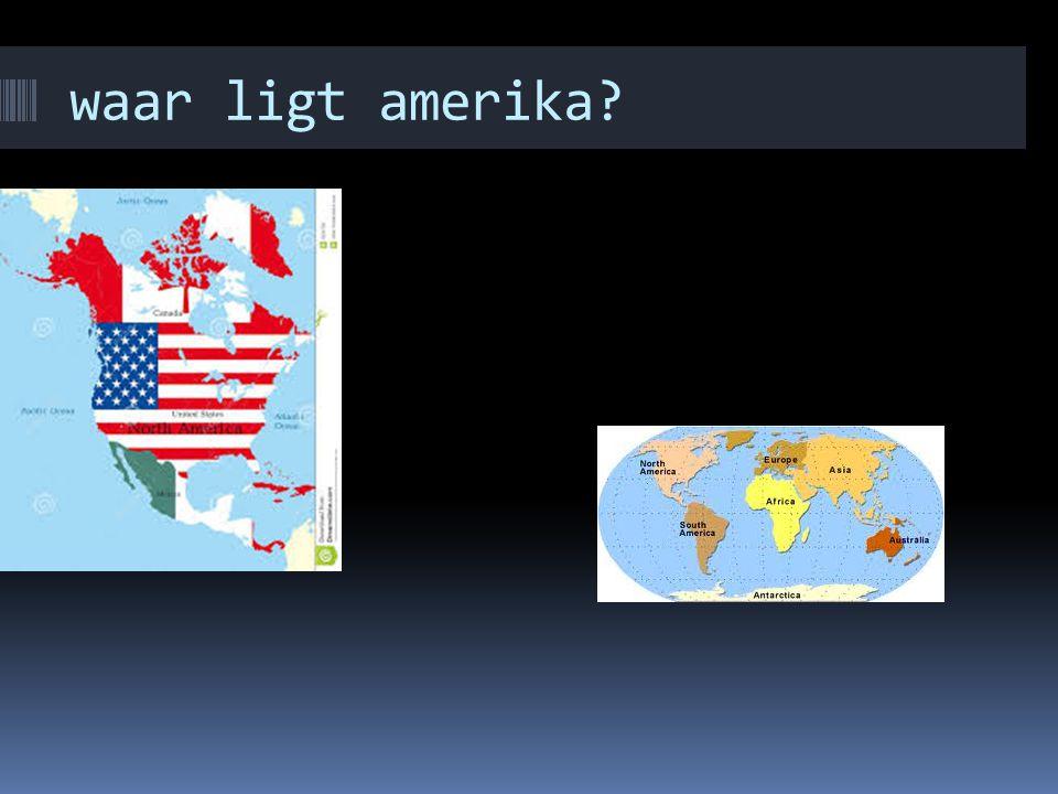 waar ligt amerika