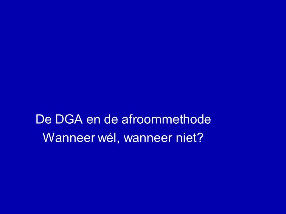 De DGA op zoek naar de grens (13) BV + personeelslening DGA •DGA: rentevoordeel als directeur = loon in natura •Geen betaling, maar gemist voordeel in BV •Nadeel aanvaard door DGA als aandeelhouder.