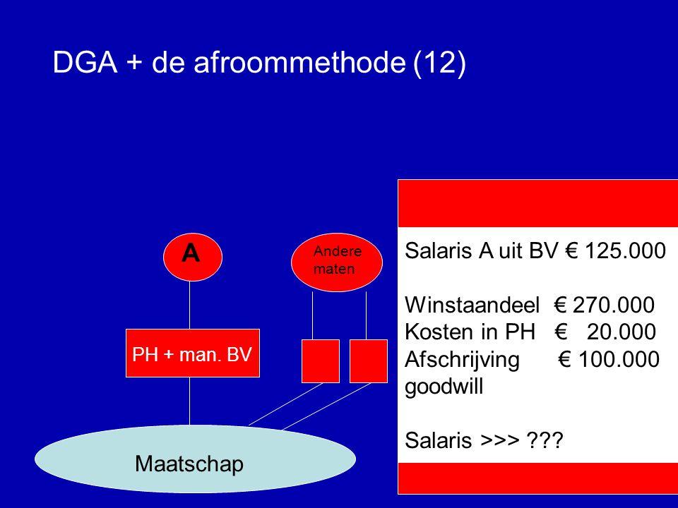 DGA + de afroommethode (11) A PH + man.