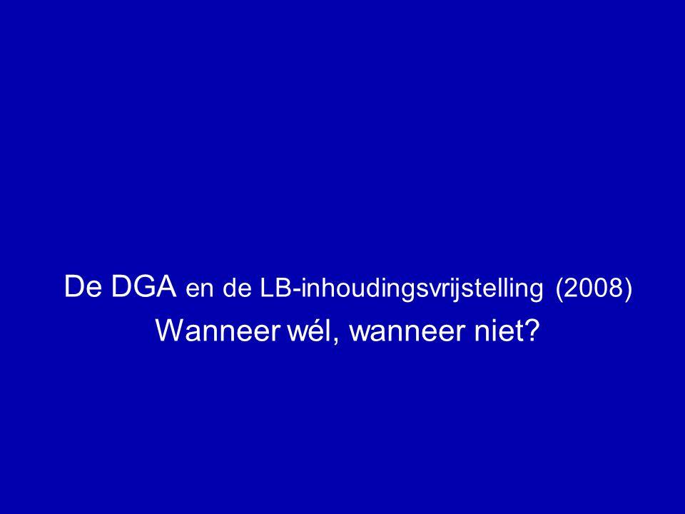DGA + de doorbetaaldloonregeling (4) A PH + man.