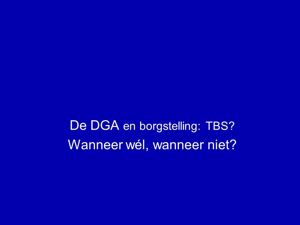 De DGA en vruchtgebruik / blooteigendom: TBS.(6) senior BV verhuur pand TBS .