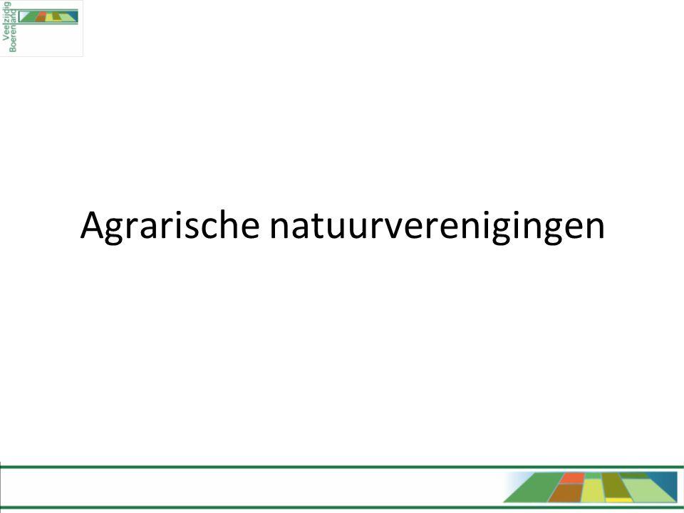 Agrarische natuurverenigingen