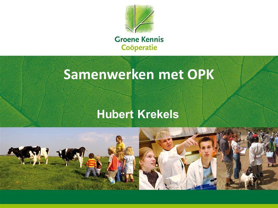 Samenwerken met OPK Hubert Krekels