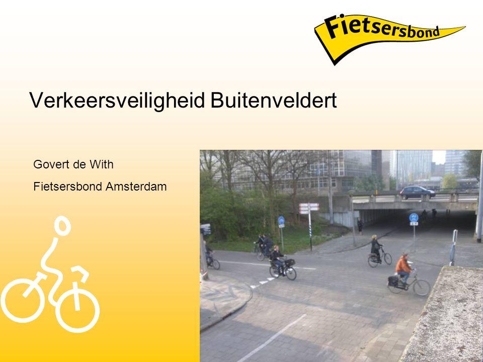 Verkeersveiligheid Buitenveldert Govert de With Fietsersbond Amsterdam