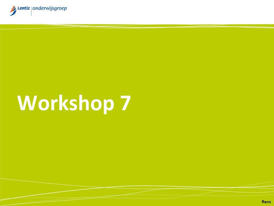 Workshop 7 Rens
