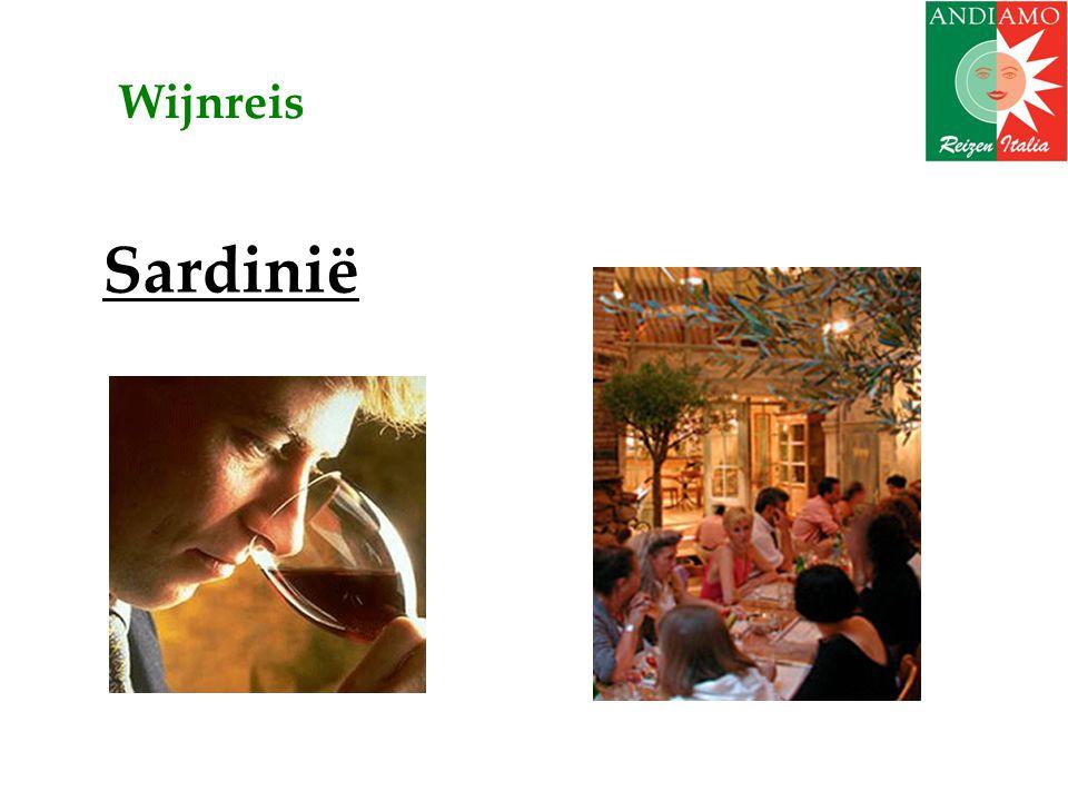 Speciale aanbieding: • Wijnreis Sardinië in september (do 16 – ma 20).