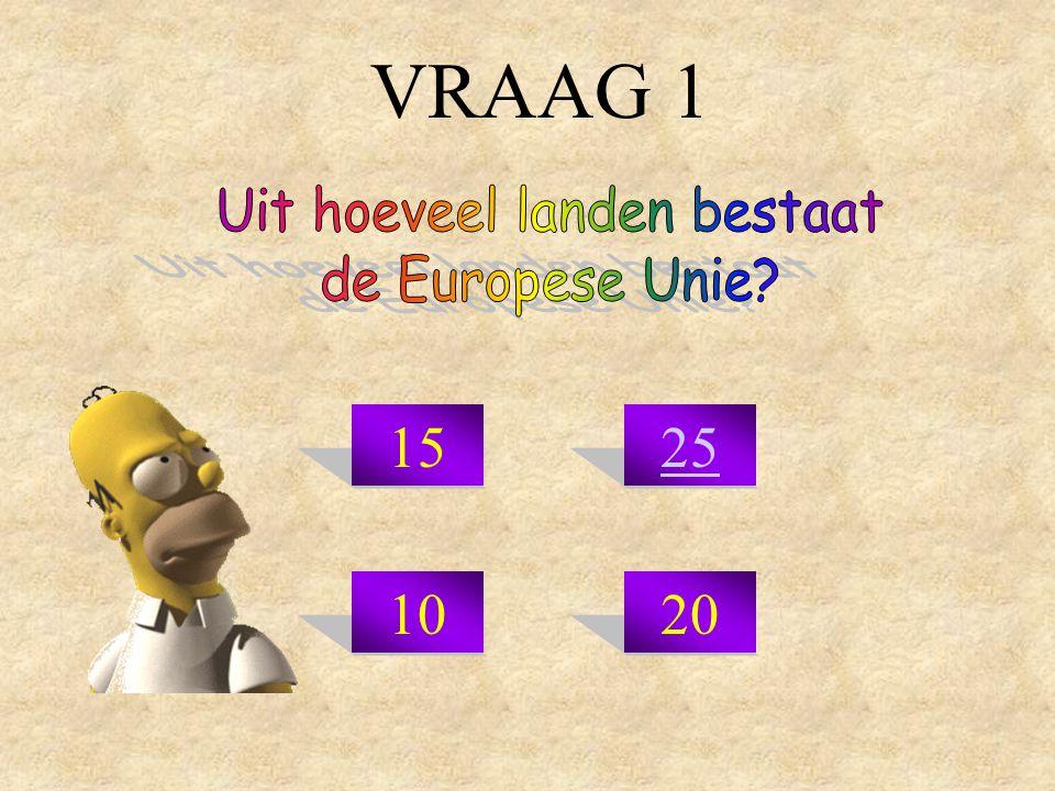 VRAAG 1 1525 1020