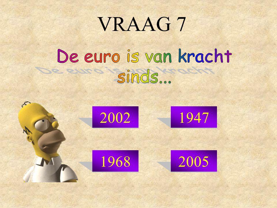 VRAAG 7 20021947 19682005