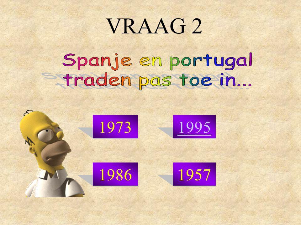 VRAAG 2 19731995 19861957