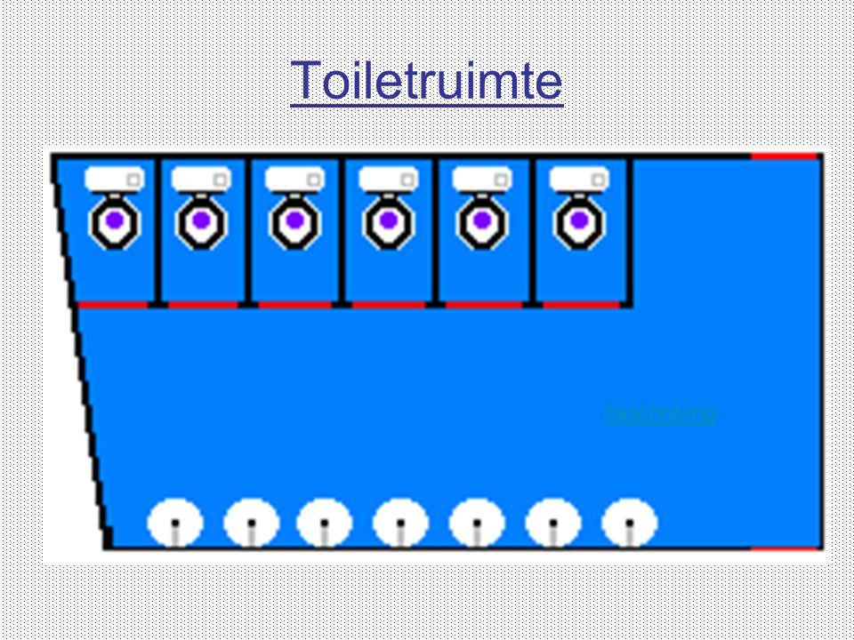 Toiletruimte beschrijving