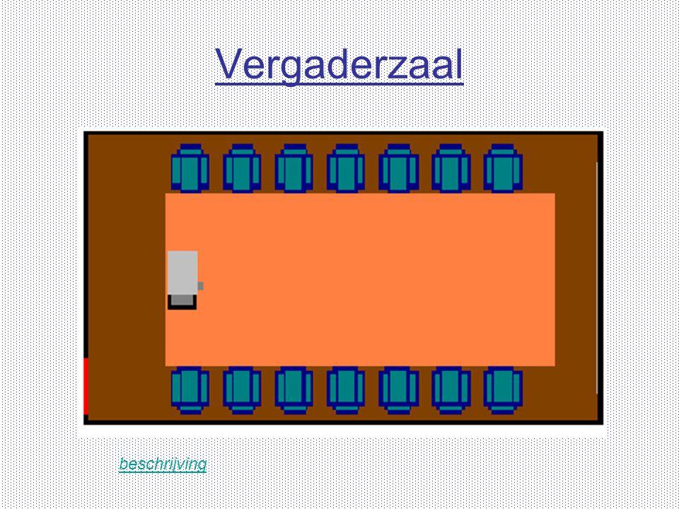 Vergaderzaal beschrijving