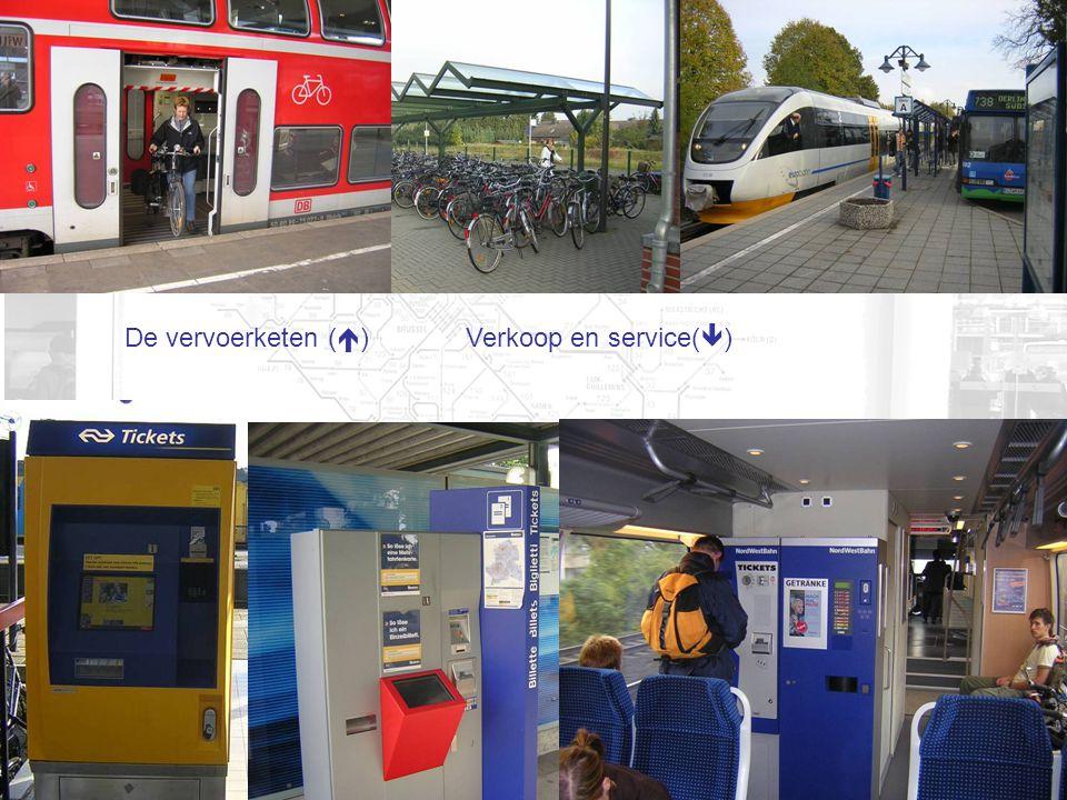 De vervoerketen (  ) Verkoop en service(  )