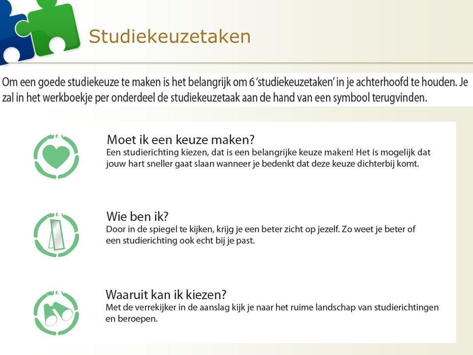 Studiekeuzetaken 8