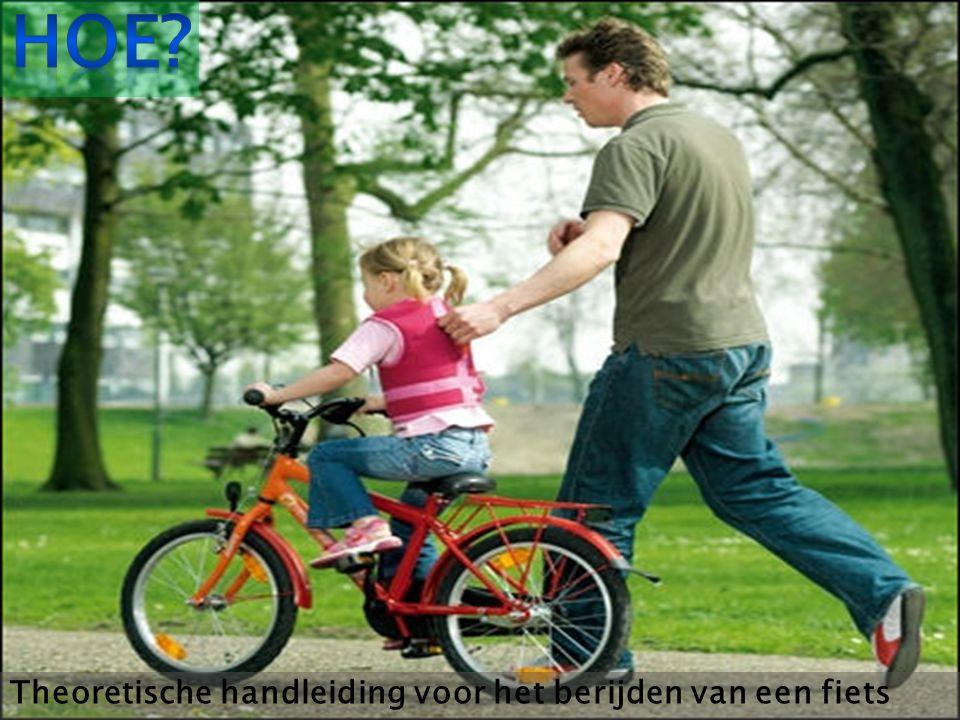 Theoretische handleiding voor het berijden van een fiets