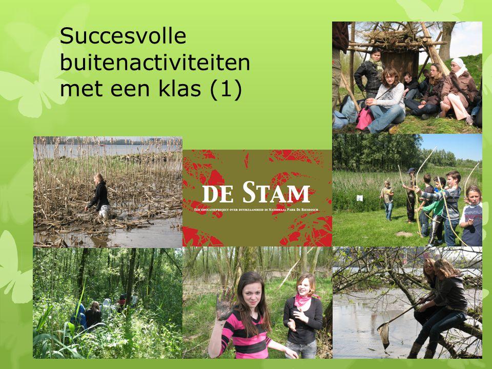 Succesvolle buitenactiviteiten met een klas (1)