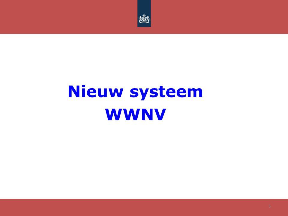 Nieuw systeem WWNV 5