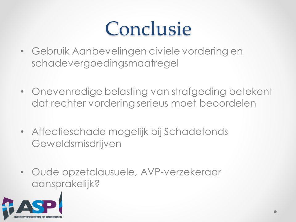 Civiele procedure: • Verjaring • Conservatoir beslag • Aansprakelijkheidsverzekeraar? (ECLI:NL:PHR:2013:BY6786 ; ECLI:NL:PHR:2013:BY6783)