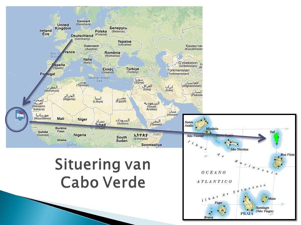 Situering van Cabo Verde
