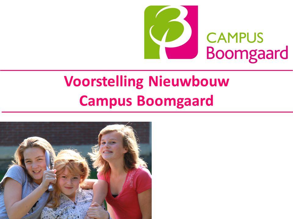 Voorstelling Nieuwbouw Campus Boomgaard