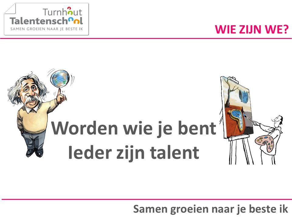Iedereen heeft talent Slimme scholen gaan op zoek naar talenten Talenten zijn hefbomen.
