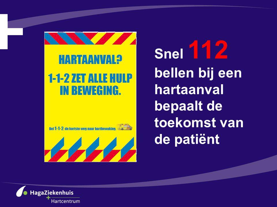 Snel 112 bellen bij een hartaanval bepaalt de toekomst van de patiënt