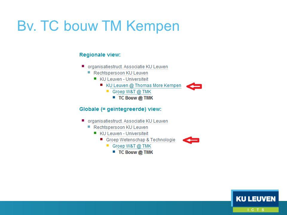 Bv. TC bouw TM Kempen