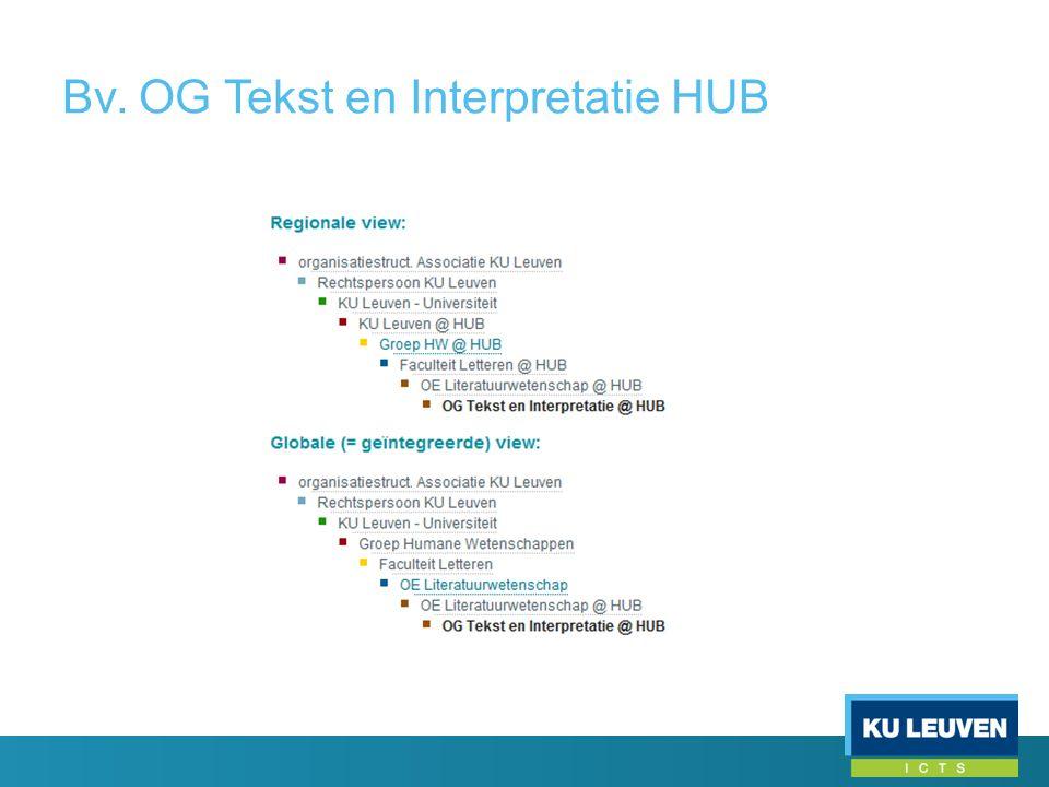 Bv. OG Tekst en Interpretatie HUB